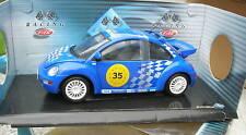 SOLIDO 1/18 VW New BEETLE RACING 1999  REF 9033!!!!!!