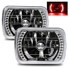 1978-1986 Ford F-150 7X6 H6014/H6052/H6054 Chrome Crystal Square Headlights -...