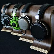 Omega shape Wood Headphone Stand Hanger Bracket Display Shelf Rack