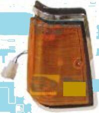 FITS DATSUN NISSAN 720  MODEL 1979 83 PAIR FRONT SIDE CORNER LIGHT CHROME LH RH