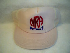Vintage Nra National Rifle Association Patriot Hat Trucker Cap Mint Cond!