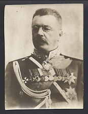 Imperial Russian World War I Army General Russky - Antique Photo 1914