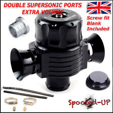 Double Supersonic Turbo inverseur Dump Blow Off Valve Fits Audi A3 S3 A4 A6 TT 1.8 T
