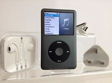 Apple iPod Classic 7th Generation Black (160GB) - PRISTINE (NO EU Limit 2.05)
