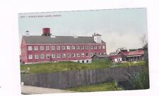 OR Salem Oregon antique db post card Woolen Mills view