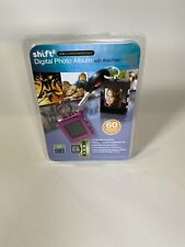 SHIFT3 Digital Photo Album With Keychain USB 2.0 Rechargeable 8MB 60 Images