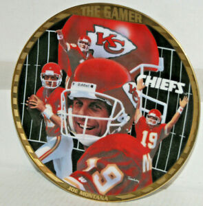 "Joe Montana ""THE NFL Superstar Collector Plate Series By Sports Impressions""."