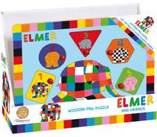 Jouets et jeux anciens puzzles animaux en bois