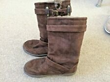 Ella Brown Thermal Snow Boots Size 6