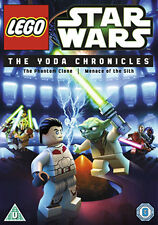 DVD:STAR WARS LEGO - THE YODA CHRONICLES - EPISODES 1 & 11 - NEW Region 2 UK