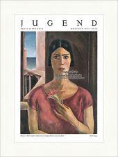 Titelseite der Nummer 26 von 1927 Willi Geiger Cuba Frau Blume Jugend 4553