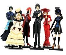 Kuroshitsuji Black Butler Ciel Sebastian 6PCS Set Figure Figurine NEW IN BOX