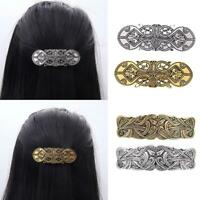 Vintage Celtic Barrette Jewelry Alloy North Vikings Hair Clip Pin n  HOT W