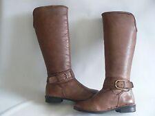 LOTUS MANSON Pelliccia Sintetica Stivali in pelle al ginocchio da donna UK 3-EU 36 NUOVO IN SCATOLA