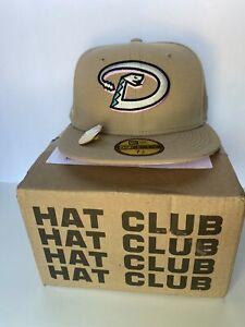 Hat Club Arizona Diamondbacks Sandstorm Collection 7 1/8 MLB With Pin Pink uv