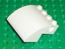 LEGO White Slope Brick Curved 61487 / set 7593 7649 4439 60022 10244 41109 4993