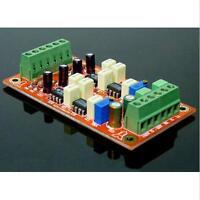 SSM2142 Unbalanced To Balanced Board (input Unbalanced Auido,output balaneced)