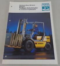 Brochure Boss Steinbock Treibgas-Gabelstapler 4-5 T Supporto 05/1995