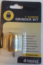 """Stained Glass Supplies Inland 1"""" Standard Grit Grinding Bit Wb-9 New"""
