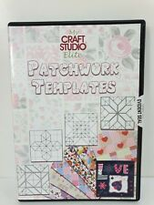 My Craft Studio Elite CD Patchwork Template Paper Design