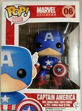 Funko Pop! Marvel Capitán América - Bobble Head.25% de descuento Black Friday