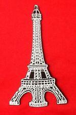 EIFFEL TOWER PARIS CITY FRANCE SOUVENIR BADGE IRON SEW ON PATCH EIFEL