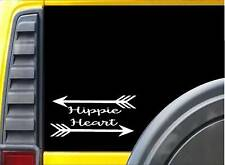 Hippie Heart *J728* 8 inch Sticker decal hippie bohemian fairy sticker