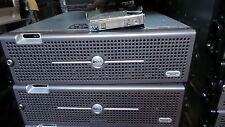 Dell PowerVault MD1000 Storage Array 2 EMM controller 4.5TB + rails +bezel
