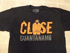 ACLU Close Guantanamo T-SHIRT Mens XL Military Prison Music Torture Skinny Puppy