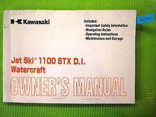 2000 Kawasaki JT1100-C1 1100 STX D.I. Jet Ski Owner Owner's Manual