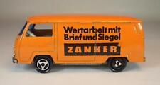 Majorette 1/60 Nr. 244 VW Volkswagen T2 Fourgon Kasten Zanker Radio Centen #969
