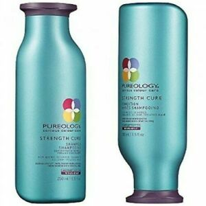 Pureology Strength Cure Shampoo and Conditioner **GREAT PRICE**