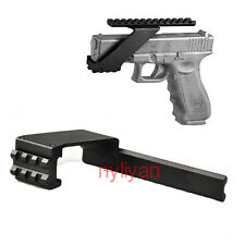 Universal 20mm Weaver Picatinny Rail Mount For Pistol Gun Laser Sight Hunt Metal
