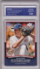 Clayton KERSHAW ROOKIE CARD 2008 Gem Mint (10) RC Upper Deck $$ Baseball DODGERS