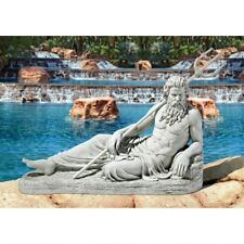 Design Toscano Exclusive Neptune Of St. John's Lock River Thames Garden Statue