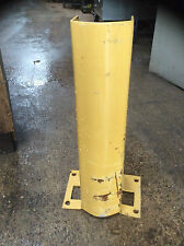YELLOW CORNER GUARDS FOR PALLET RACKING