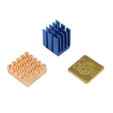 Dissipatori in rame e alluminio per Raspberry Pi 3 Modello B / PI 2 / b +