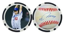 HIDEO NOMO / LOS ANGELES DODGERS - POKER CHIP - BALL MARKER ***SIGNED***