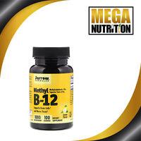 Jarrow Formulas Methyl B-12 Lemon Flavor 1000mcg 100 Lozenges | Nerve Supports