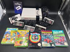 NES Nintendo Konsole + 5 Spiele In OVP + 4 Controller + Four Score