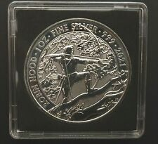 More details for 2021 robin hood myths & legends 1oz silver coin   square capsule & fast delivery