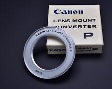Canon Lens Mount Converter P M42 lens to Canon FL/FD Infinity Focus (#2030)