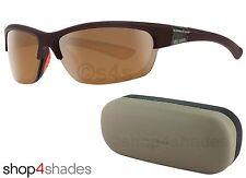 HARLEY DAVIDSON Media Montura Gafas De Sol Negro Mate _ Marrón Espejo hd0629s