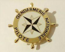 Brevet PILOTE GENDARMERIE NATIONALE  PEG Pilote Embarcation Gendarmerie Maritime