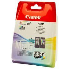 CANON ORIGINAL PG510 CL511 DRUCKER PATRONE PIXMA MP250 MP280 MP495 MP270 MP490