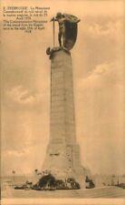 POSTCARD BELGIUM PHOTO PHOTOGRAPH ZEEBRUGGE ,MONUMENT 1918