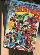 Marvel Super-Heroes Secret Wars 1,Crisis on Infinite Earths 1 +more *24 Books