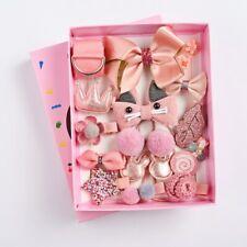 NEW style 18x Pcs/Box Children Hair Clip Accessories Set Children gift set Kids
