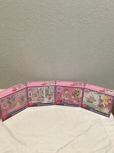 Lot of 4 Fancy Nancy 100 Piece Puzzles by BriarPatch for Ages 5+ Brand New