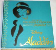 The Art of The Disney Princess Celebrating Jasmine From Aladdin - New Movie Book